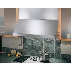 "WP28 - 48"" Stainless Steel Pro-Style Range Hood with 300 to 1650 Max CFM internal/external blower options"