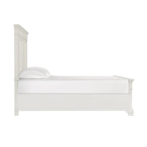Calloway White Bookcase Bedroom - Twin Bookcase Storage Bed, Dresser, Mirror, Chest, and Night Stand
