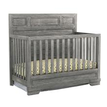 Product Image - Foundry Flat Top Convertible Crib  Brushed Pewter Brushed Pewter