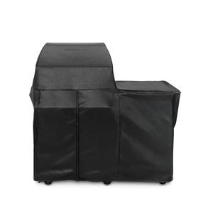 """Lynx30"""" Grill or Smoker Carbon Fiber Vinly Cover (Mobile Kitchen Cart)"""