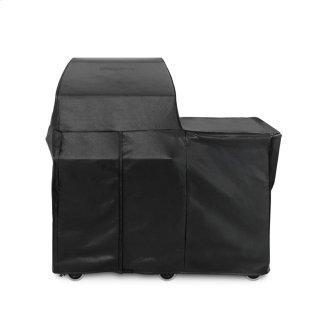 Napoli Outdoor Oven carbon fiber vinylcover (freestanding)