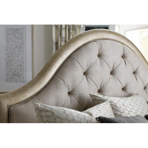 A.R.T. Furniture - Starlite King Upholstered Panel Bed with Storage