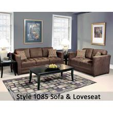 Sienna Chocolate/Skinny Minnie Go 1085LS - 1085 Loveseat