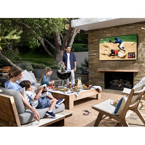 "Samsung - 55"" Class The Terrace Partial Sun Outdoor QLED 4K Smart TV"