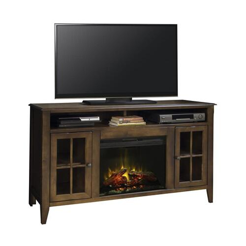 """Legends - Brownstone 60"""" Fireplace Console"""