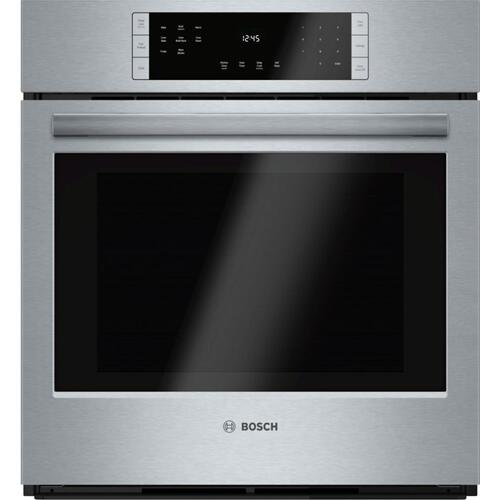 800 Series Single Wall Oven 27'' Stainless steel HBN8451UC