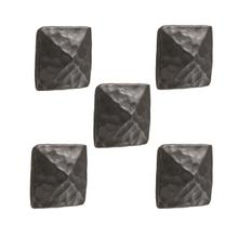 Forest Hill Iron Drawer Knob- 5 Piece Set
