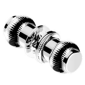 Pair of large knobs