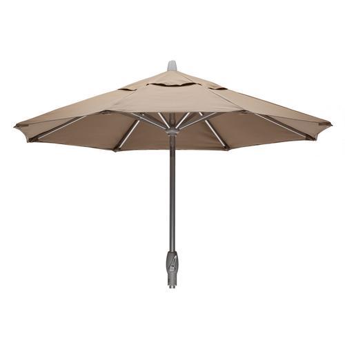 Telescope Casual Furniture - Value Market Umbrella 7 1/2' Market Umbrella w/ Powdercoat Aluminum Frame and Push Button Tilt