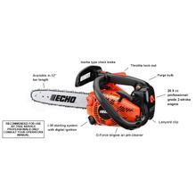 See Details - ECHO CS-271T 26.9cc Top Handle Chain Saw
