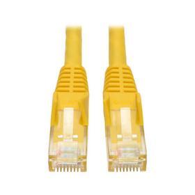 Cat6 Gigabit Snagless Molded (UTP) Ethernet Cable (RJ45 M/M), Yellow, 6 ft. (1.83 m)