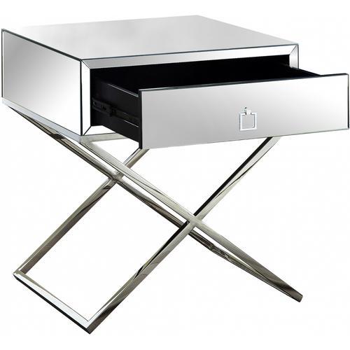 "Lynn Side Table - 24"" W x 20"" D x 25"" H"