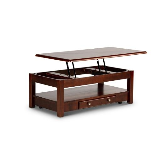Nelson Lift-Top Cocktail Table, Cherry