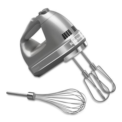 KitchenAid - 7-Speed Hand Mixer - Contour Silver