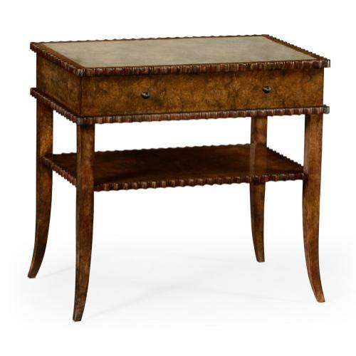 Huxley Burl End Table