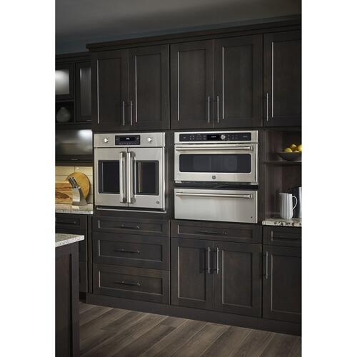 "GE Cafe™ Series 30"" Built-In French-Door Single Convection Wall Oven-CLOSEOUT"