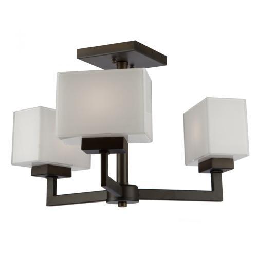 Artcraft - Cube Light SC13183OB Semi Flush