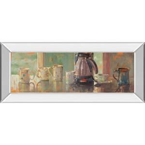 """Gathering I"" By Lorraine Vail Mirror Framed Print Wall Art"