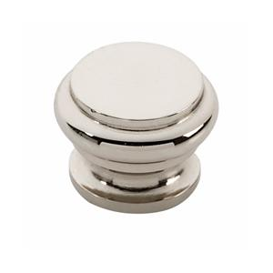 Tuscany Bread Box Knob A230 - Polished Nickel