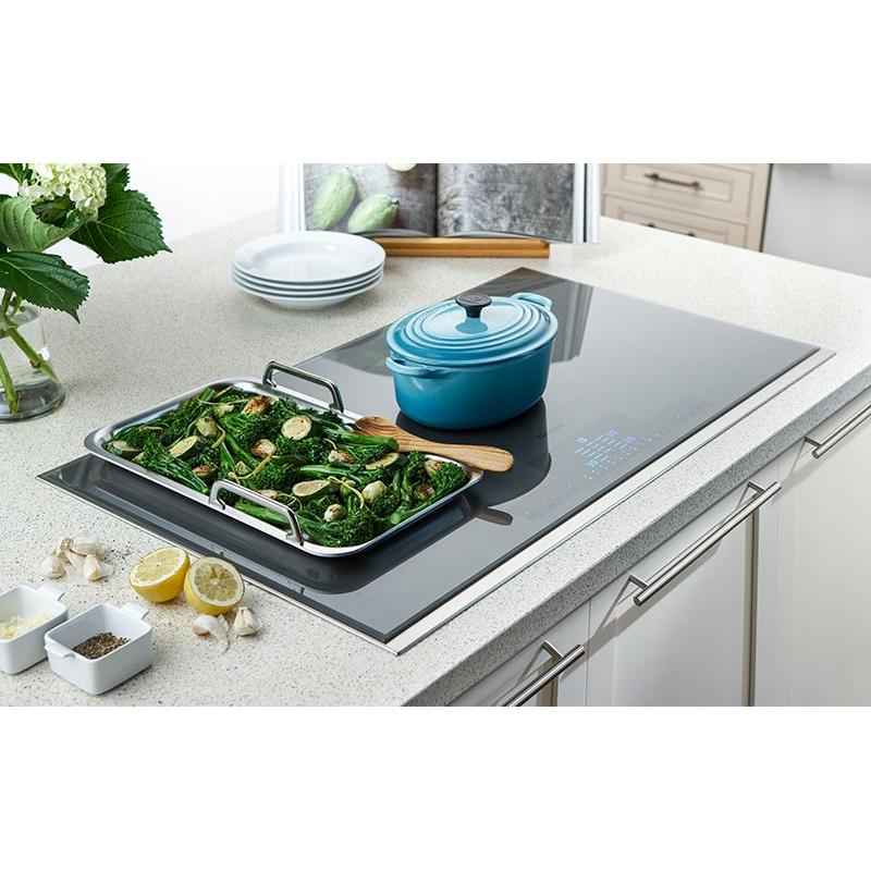 36-Inch Masterpiece® Liberty® Induction Cooktop, Silver Mirrored, Framed