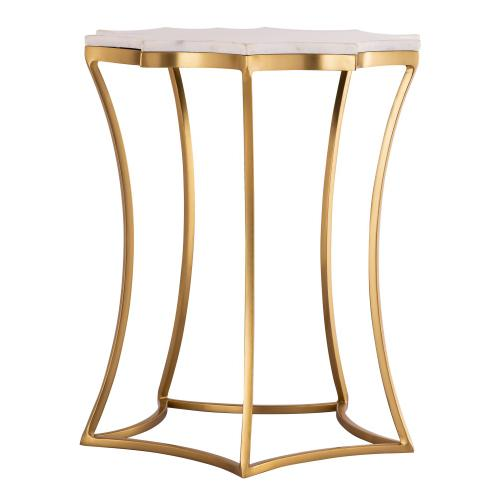 Camilla Marble Side Table by Inspire Me! Home Decor