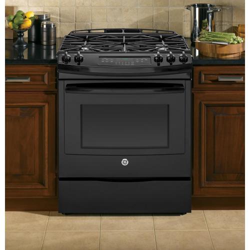 "GE Appliances - GE® 30"" Slide-In Front Control Gas Range"