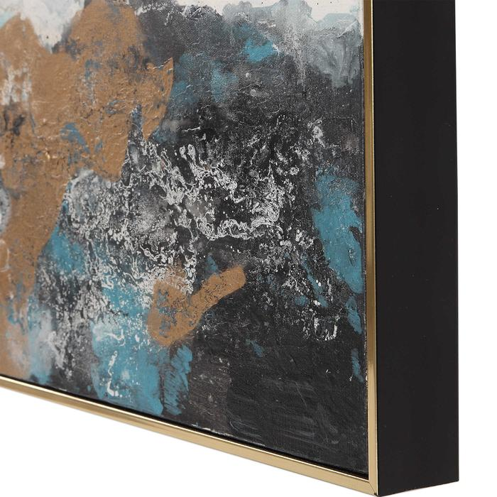 Uttermost - Crashing Waves Hand Painted Canvases, S/3