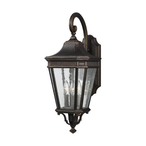 Cotswold Lane Medium Lantern Grecian Bronze