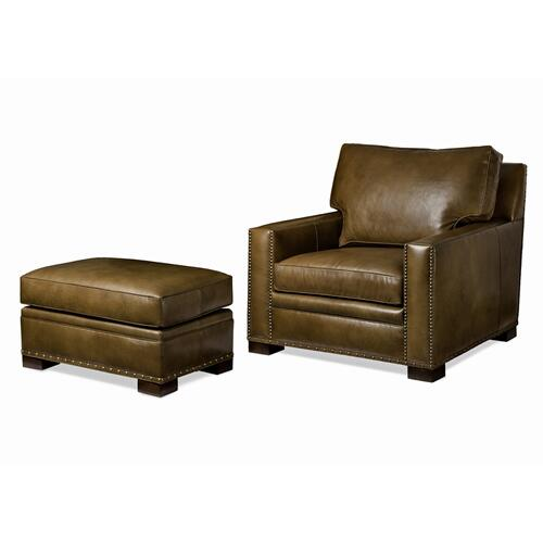 Emilio Chair and Ottoman