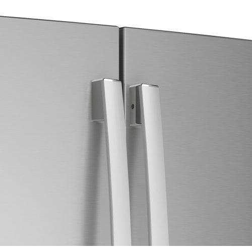 GE Profile 22.1 Cu. Ft. Counter-Depth French-Door Refrigerator with Door In Door Design Stainless Steel - PYD22KYNFS