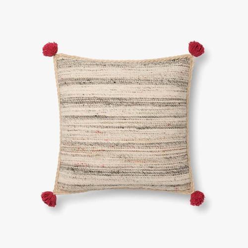 P0804 JB Charcoal / Multi Pillow