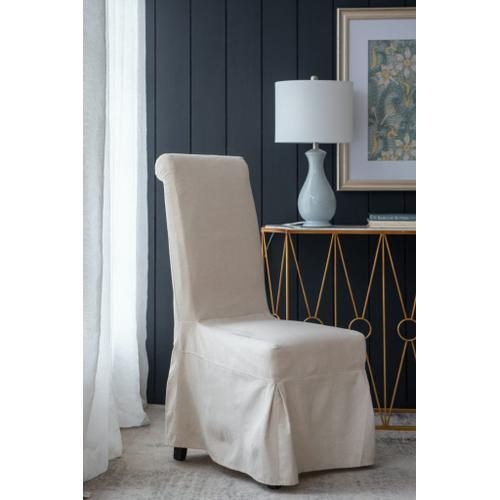 A & B Home - Laramie Skirted Chair