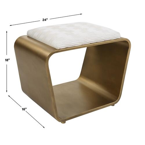 Uttermost - Hoop Small Bench