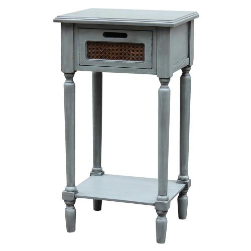 Product Image - END TABLE RATTAN WOVEN DRAWER, 17X13.5X31, 1PK 2.68'