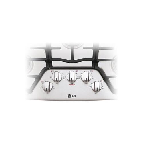 """30"""" Gas Cooktop with SuperBoil™"""