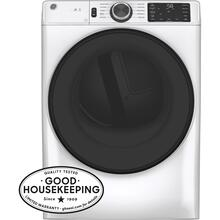 See Details - GE® Long Vent 7.8 cu. ft. Capacity Smart Electric Dryer with Sanitize Cycle