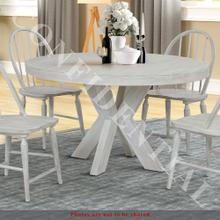 See Details - Round Single Pedestal Table