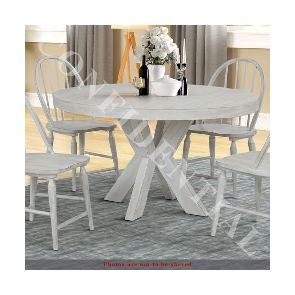 Round Single Pedestal Table