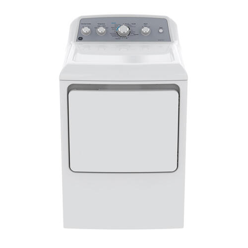 GE 7.2 Cu.Ft. Top Load Electric Dryer White GTD45EBMKWS