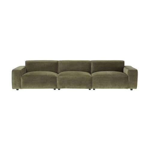 A.R.T. Furniture - Olafur Upholstered 3-piece Modular Loveseat in Moss by A.R.T. Furniture