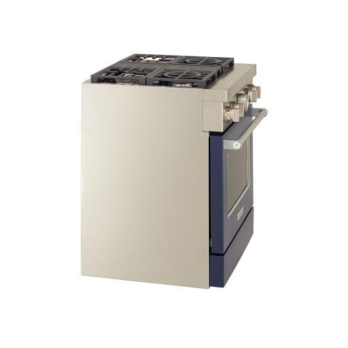 KitchenAid Canada - KitchenAid® 30'' Smart Commercial-Style Dual Fuel Range with 4 Burners - Ink Blue
