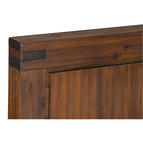 Arbor King Panel Bed, Brown