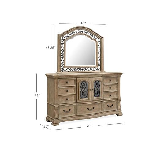 Magnussen Home - Shaped Mirror