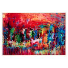 Stephanie Saunders' Venice in Reds