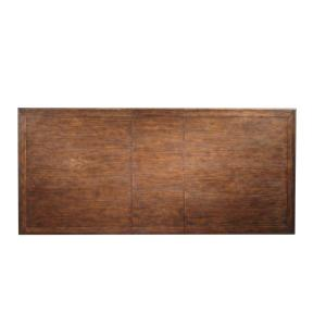 """Standard Furniture - Paisley Court Dining Table with 18"""" Leaf, Tobacco Brown"""