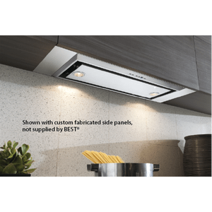 "Best21-3/16"" SS Range Hood w/ internal P6 650 Max CFM blower"
