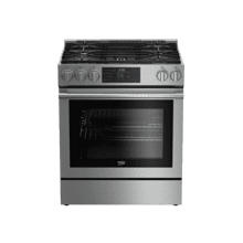 "30"" Stainless Steel Slide-In Gas Range"
