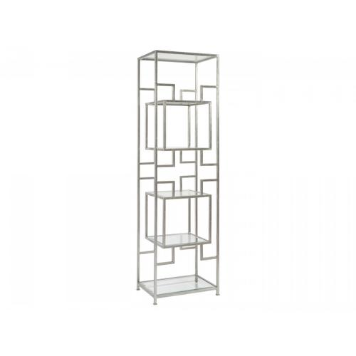 Silver Leaf Suspension Slim Etagere