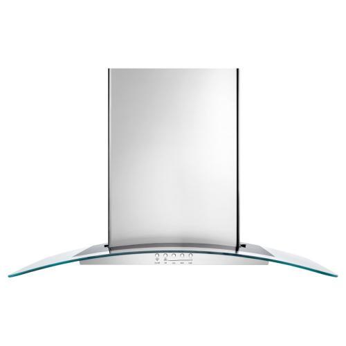 "30"" Convertible Wall-Mount 400-CFM Glass Canopy Hood"