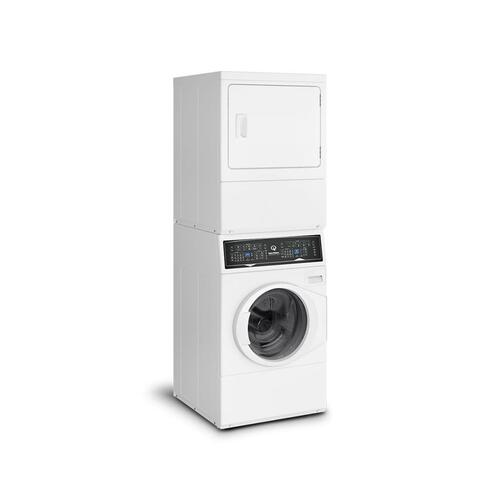 SF7 Stacked Washer-Gas Dryer with Sanitize  5-Year Warranty
